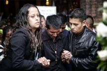 Se realizaron en Bogotá honras fúnebres de la pequeña Yuliana