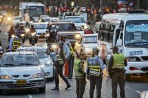 Policía de Carreteras apoyará controles del Tránsito en Cali