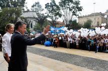 Santos viajó con víctimas del conflicto a recibir su Nobel de Paz