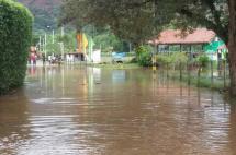 Desbordamiento de río Jamundí afectó tres urbanizaciones en la zona rural