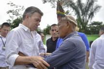 Santos llama a cumplir con los compromisos sobre cambio climático