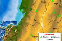 Sismo de 4,5 grados con epicentro en Calima El Darién se sintió en Cali