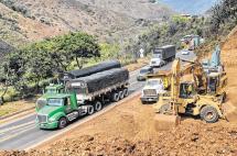 Andi alerta de riesgos de paralizar obras en doble calzada Buga-Buenaventura