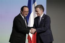 Hollande criticó a Trump y destacó proceso de paz en Colombia