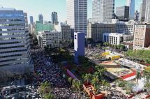 Mujeres lideraron marchas contra Trump en 600 ciudades del mundo