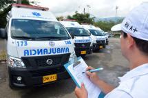 El 46 % de las ambulancias que ruedan en Cali pasaron el examen