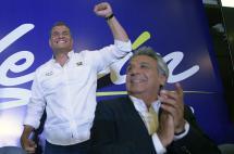 A boca de urna, el oficialista Lenin Moreno encabeza elecciones en Ecuador