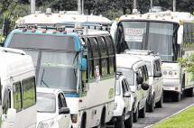 Gremio de transporte especial se moviliza hoy en Cali