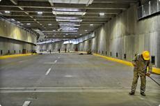 Tras 28 meses de trabajo, se inaugura el hundimiento de la Avenida Colombia