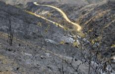 En fotos: así quedó la zona incendiada en Mulaló, Yumbo