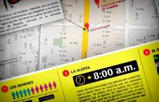 Gráfico: paso a paso del intento de robo a banco en el sur de Cali
