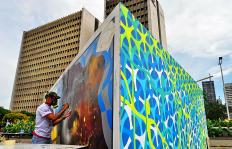 La Sucursal del Arte: así se ha transformado Cali con la II Bienal de Muralismo