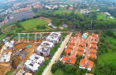 Vista desde el aire a urbanización Remanso de la Colina