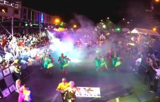 Salsódromo desde el aire: otra mirada del impactante desfile nocturno