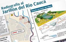Infografía: Los detalles de la 'cirugía' que le harán al jarillón del río Cauca