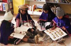 ¿Una biblioteca que se encarga de preservar las tradiciones de los indígenas?