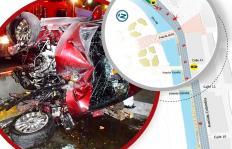 Infografía: este fue el recorrido del conductor cuando chocó en el túnel de la Avenida Colombia