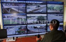 Lo que captan las cámaras de seguridad en Cali