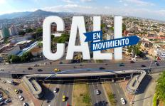 Video: así se ven las vías de Cali desde al aire