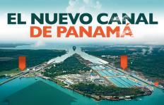 Gráfico: así se fue construyendo el nuevo Canal de Panamá