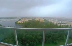 Vea cómo los fuertes vientos de Matthew golpearon a este condado de Miami