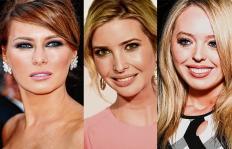 Las rubias que rodean a Donald Trump