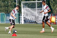 Video: primer entreno de James Rodríguez con el Real Madrid