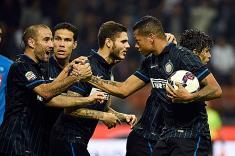 Freddy Guarín anotó en empate de Inter ante Napoli