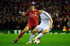Champions: Real Madrid con James Rodríguez arrolla a Liverpool