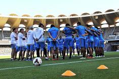 La Selección Colombia espera un rival más exigente