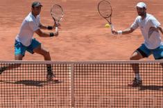 Juan Sebastián Cabal y Robert Farah, a semifinales en Buenos Aires