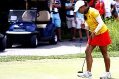 La golfista María José Uribe busca el podio en los Juegos Olímpicos de Brasil