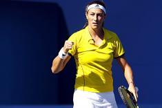 Mariana Duque tuvo buen debut en el US Open