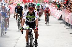 Jaime Castañeda, nuevo líder de la Vuelta a Colombia