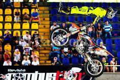 La gente disfrutó y apoyó al motocrosista caleño Mauricio Ospina