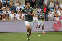 """""""James Rodríguez se queda en el Real Madrid"""": Zinedine Zidane"""