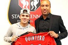 Juan Fernando Quintero jugará con el Rennes de Francia