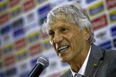 La selección Colombia le festejó los 66 años a José Pekerman