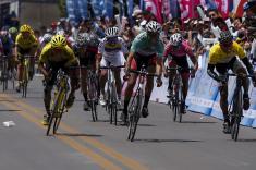 José Jaimes ganó la tercera etapa de la Vuelta a Colombia