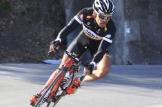 Leonardo Duque, mejor colombiano de la etapa 12 en la Vuelta a España