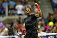 Rafael Nadal tuvo que sudar más de la cuenta para avanzar en el US Open