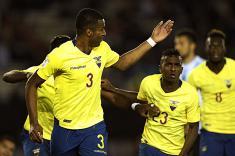 Ecuador hace historia y vence a Argentina en clasificatoria a Rusia 2018
