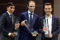 Nairo Quintana fue condecorado por la UCI en Abu Dhabi