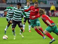 Fredy Montero marcó en victoria de Sporting sobre Lokomotiv en Europa League