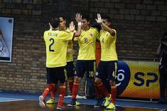 La selección Colombia derrotó a Bolivia en eliminatoria al Mundial de Fútsal