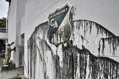 Actos vandálicos contra las sedes del Deportivo Cali y América