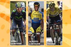 Nairo Quintana, Contador y Froome: tres escaladores para llegar a lo más alto