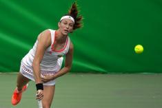 La colombiana Mariana Duque quedó eliminada del US Open