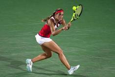 Campeona olímpica Mónica Puig tuvo su debut y despedida en el US Open