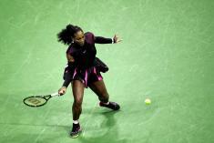 Serena Williams inició con pie derecho su participación en el US Open
